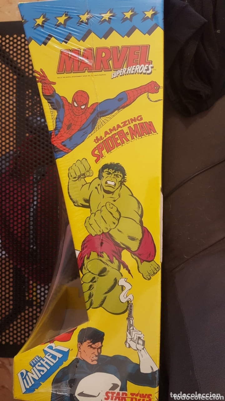 Figuras y Muñecos Marvel: Figura - Spider-man - Star Toys - Ultra Rare spiderman Vintage Star Toys - Made In Spain - Foto 5 - 172895425
