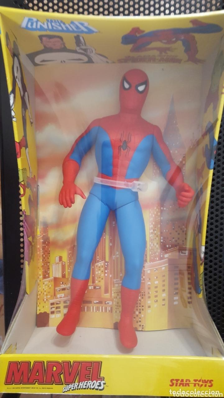 FIGURA - SPIDER-MAN - STAR TOYS - ULTRA RARE SPIDERMAN VINTAGE STAR TOYS - MADE IN SPAIN (Juguetes - Figuras de Acción - Marvel)