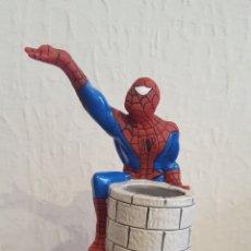 Figuras y Muñecos Marvel: BOTELLA - SPIDER-MAN (SPIDERMAN) - FRASCO DE COLONIA (VACIO) INFANTIL - 1996. Lote 172902982