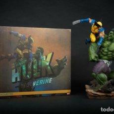 Figuras y Muñecos Marvel: SIDESHOW HULK VS WOLVERINE. Lote 172936507