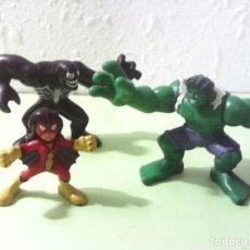 Figuras y Muñecos Marvel: MARVEL SUPER HERO SQUAD LOTE DE 3 FIGURAS. Lote 173020212