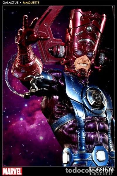 Figuras y Muñecos Marvel: GALACTUS SIDESHOW ESTADO MUY BUENO COMO NUEVO MUY BUSCADA MAS ARTICULOS NEGOCIABLE - Foto 2 - 173677428