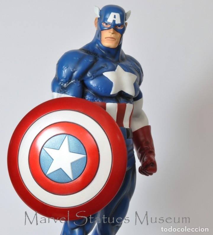 CAPTAIN AMERICA BOWEN CLASSIC MUSEUM ESTADO COMO NUEVO MAS ARTICULOS PRECIO NEGOCIABLE (Juguetes - Figuras de Acción - Marvel)