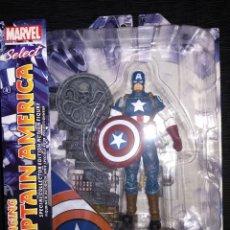 Figuras y Muñecos Marvel: FIGURA CAPITAN AMÉRICA MARVEL SELECT. Lote 175360462