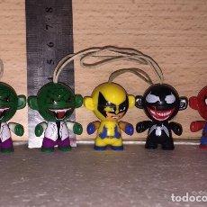 Figuras y Muñecos Marvel: COLGANTES MARVEL LOTE. Lote 176988565