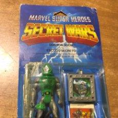 Figuras y Muñecos Marvel: MARVEL - SECRET WARS - DOCTOR DOOM - ESCUDO SECRETO - EN BLISTER - MADE IN SPAIN - 1985. Lote 177393214
