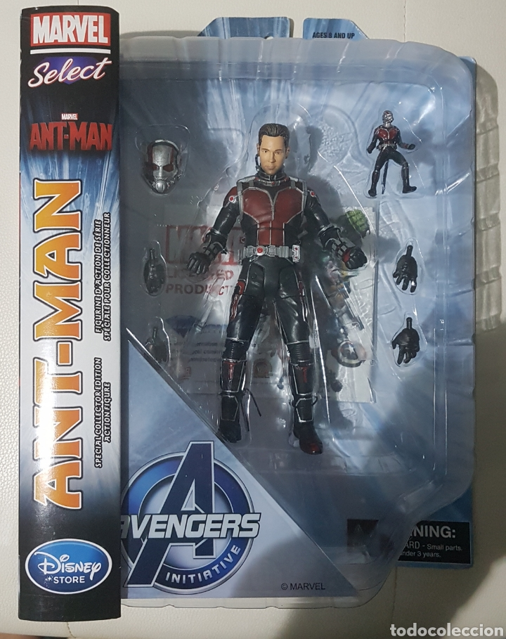 FIGURA MARVEL SELECT ANT-MAN (Juguetes - Figuras de Acción - Marvel)