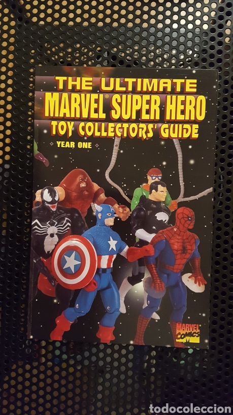 Figuras y Muñecos Marvel: The ultimate Marvel Super heroes Toy Collector Guide 1, 2, 3 y 4 - Foto 2 - 178868588