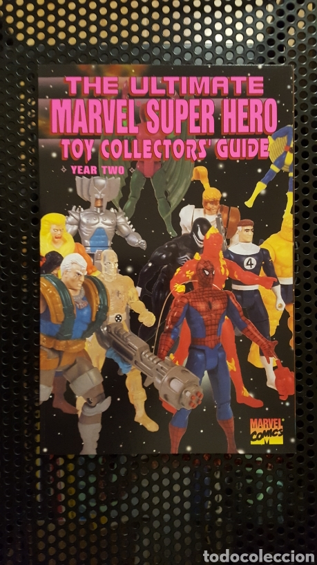 Figuras y Muñecos Marvel: The ultimate Marvel Super heroes Toy Collector Guide 1, 2, 3 y 4 - Foto 5 - 178868588
