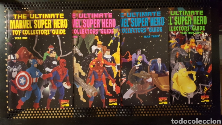 THE ULTIMATE MARVEL SUPER HEROES TOY COLLECTOR GUIDE 1, 2, 3 Y 4 (Juguetes - Figuras de Acción - Marvel)