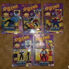 Figuras y Muñecos Marvel: LOTE FIGURAS - SPIDER-MAN - SPIDERMAN - SPIDER-WARS - TOY BIZ - MARVEL COMICS - DE 1996. Lote 178870886