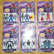 Figuras y Muñecos Marvel: LOTE FIGURAS - AMAZING SPIDER-MAN SPECIAL COLLECTOR - SPIDERMAN - TOY BIZ - 1996 - EN BLISTER. Lote 178874776