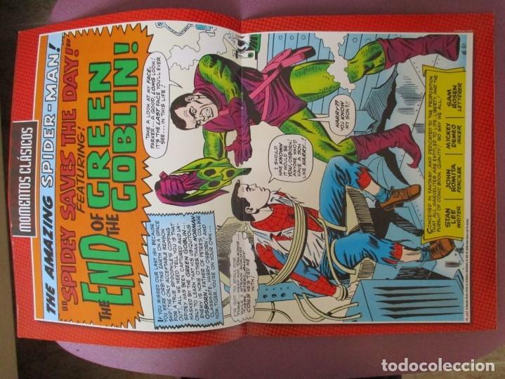 Figuras y Muñecos Marvel: FIGURAS DE PLOMO MARVEL DE COLECCION DUENDE VERDE , ALTAYA CON CAJA Y CON REVISTA - Foto 3 - 180135650