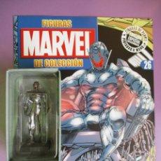 Figuras y Muñecos Marvel: FIGURAS DE PLOMO MARVEL DE COLECCION ULTRÓN , ALTAYA CON CAJA Y CON REVISTA. Lote 180136503