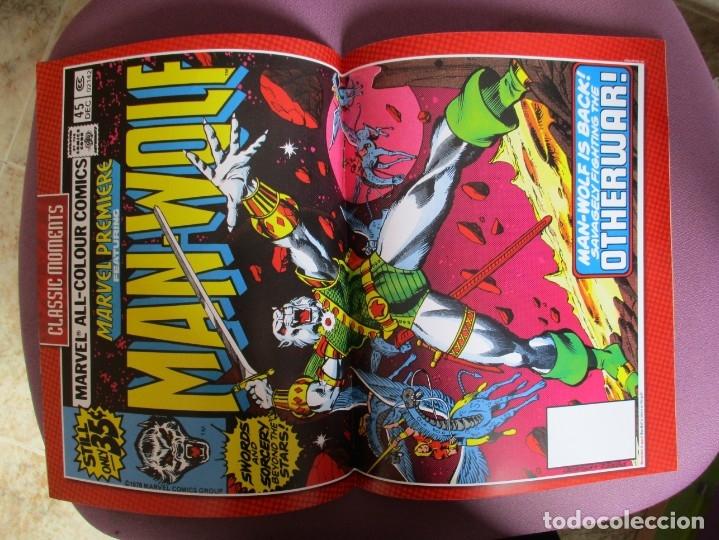 Figuras y Muñecos Marvel: MARVEL FIGURINE COLLECTION MAN-WOLF, FIGURA DE PLOMO HOMBRE LOBO, CON CAJA Y CON REVISTA - Foto 3 - 180139267