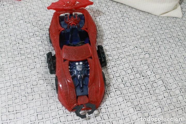 Figuras y Muñecos Marvel: Coche original Spiderman Marvel del 1997. - Foto 3 - 180878146