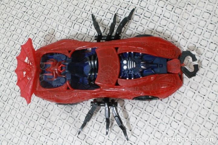 Figuras y Muñecos Marvel: Coche original Spiderman Marvel del 1997. - Foto 6 - 180878146