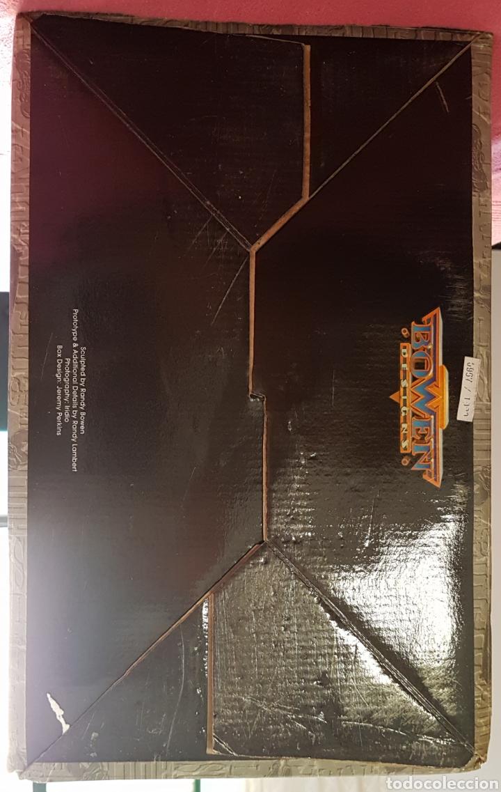 Figuras y Muñecos Marvel: Estatua Marvel de Ghost Rider por Randy Bowen Designs. Variante cromada. - Foto 15 - 181338865