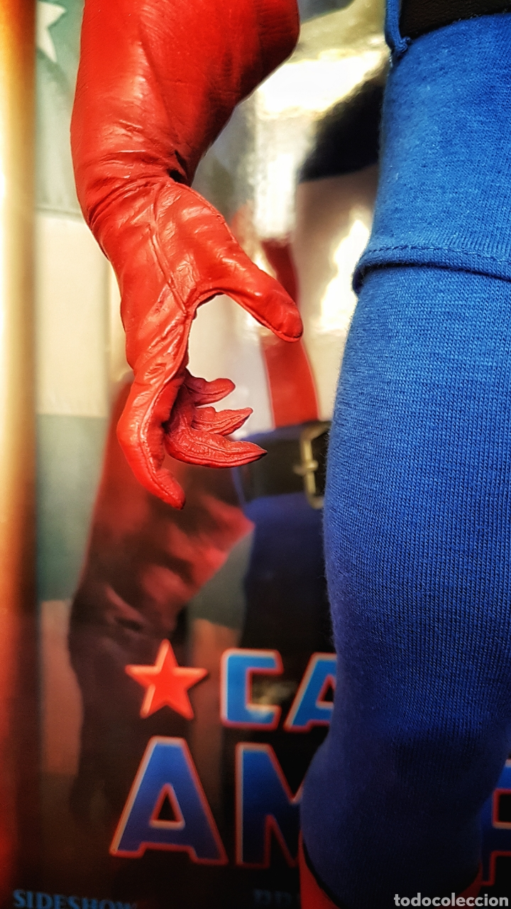 Figuras y Muñecos Marvel: Estatua Marvel del Capitan America Premium Format Figure sideshow. - Foto 9 - 181400146