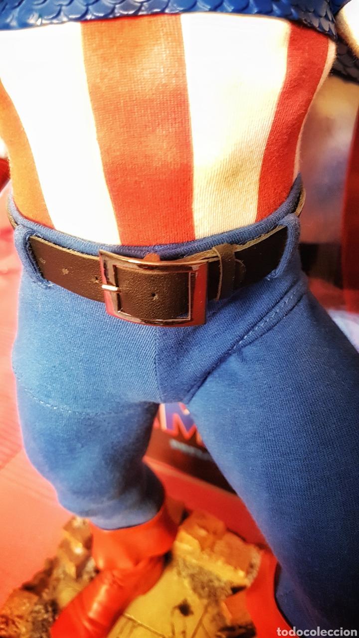 Figuras y Muñecos Marvel: Estatua Marvel del Capitan America Premium Format Figure sideshow. - Foto 11 - 181400146