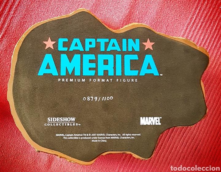 Figuras y Muñecos Marvel: Estatua Marvel del Capitan America Premium Format Figure sideshow. - Foto 12 - 181400146