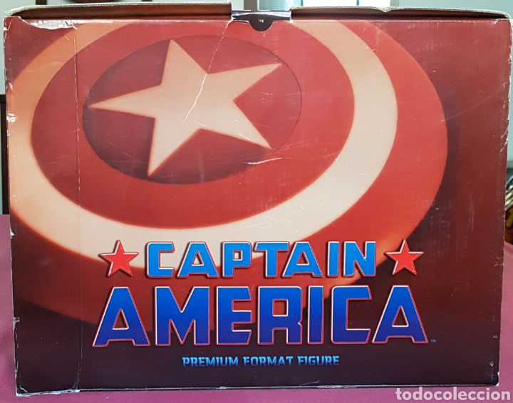 Figuras y Muñecos Marvel: Estatua Marvel del Capitan America Premium Format Figure sideshow. - Foto 18 - 181400146