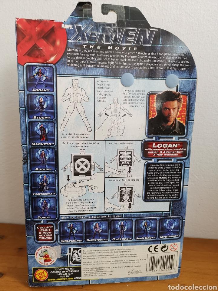 Figuras y Muñecos Marvel: Figura X-Men The movie, Logan, en su blíster. Marvel Toy Biz - Foto 3 - 182280478