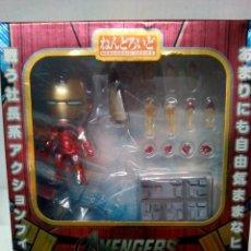 Figuras y Muñecos Marvel: -IRON MAN MARK 7- AVENGER-HEROS EDITION-284-NENDOROID 284 - ONLY JAPAN-RARO. Lote 182487100