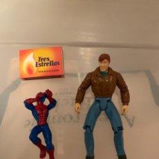 Figuras y Muñecos Marvel: FIGURAS PETER PARKER Y SPIDERMAN. Lote 182833461