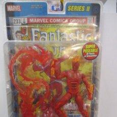 Figuras y Muñecos Marvel: MARVEL LEGENDS - ANTORCHA HUMANA - 4 FANTASTICOS - SERIE II BLISTER / SIN ABRIR - TOY BIZ . Lote 183461751