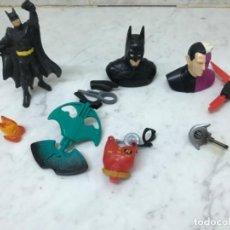 Figuras y Muñecos Marvel: LOTE BATMAN ROBIN ANTIGUO VARIAS PIEZAS PARA COMPLETAR . Lote 183887090