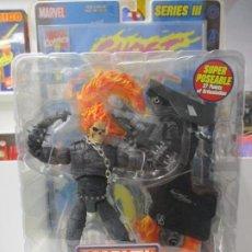 Figuras y Muñecos Marvel: MARVEL LEGENDS - GHOST RIDER CON MOTO - SERIE III BLISTER / SIN ABRIR - TOY BIZ. Lote 184333528