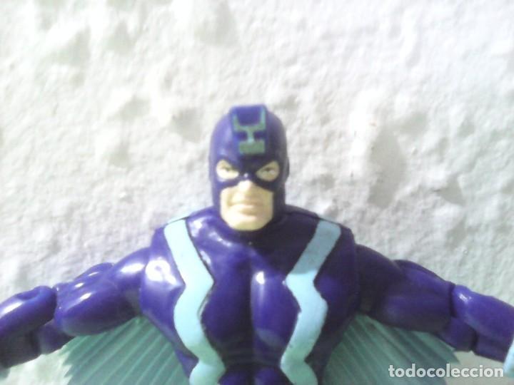 Figuras y Muñecos Marvel: Marvel figura rayo negro de los inhumanos 1994 toy biz 14cm - Foto 2 - 185682153
