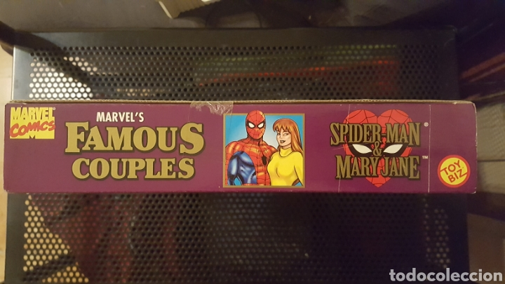 Figuras y Muñecos Marvel: Figuras - Spider-man (Spiderman) & Mary Jane - Famous couples - Toy Biz - 1996 - Foto 4 - 185694772