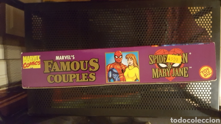 Figuras y Muñecos Marvel: Figuras - Spider-man (Spiderman) & Mary Jane - Famous couples - Toy Biz - 1996 - Foto 6 - 185694772