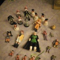 Figuras y Muñecos Marvel: LOTE DE 25 FIGURAS DE DRAGÓN BALL Z. DIFERENTES MODELOS Y TAMAÑOS.. Lote 186013940