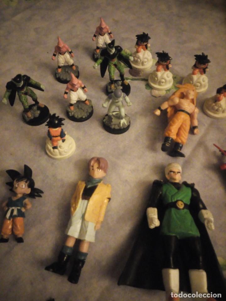Figuras y Muñecos Marvel: Lote de 25 figuras de dragón ball z. diferentes modelos y tamaños. - Foto 2 - 186013940