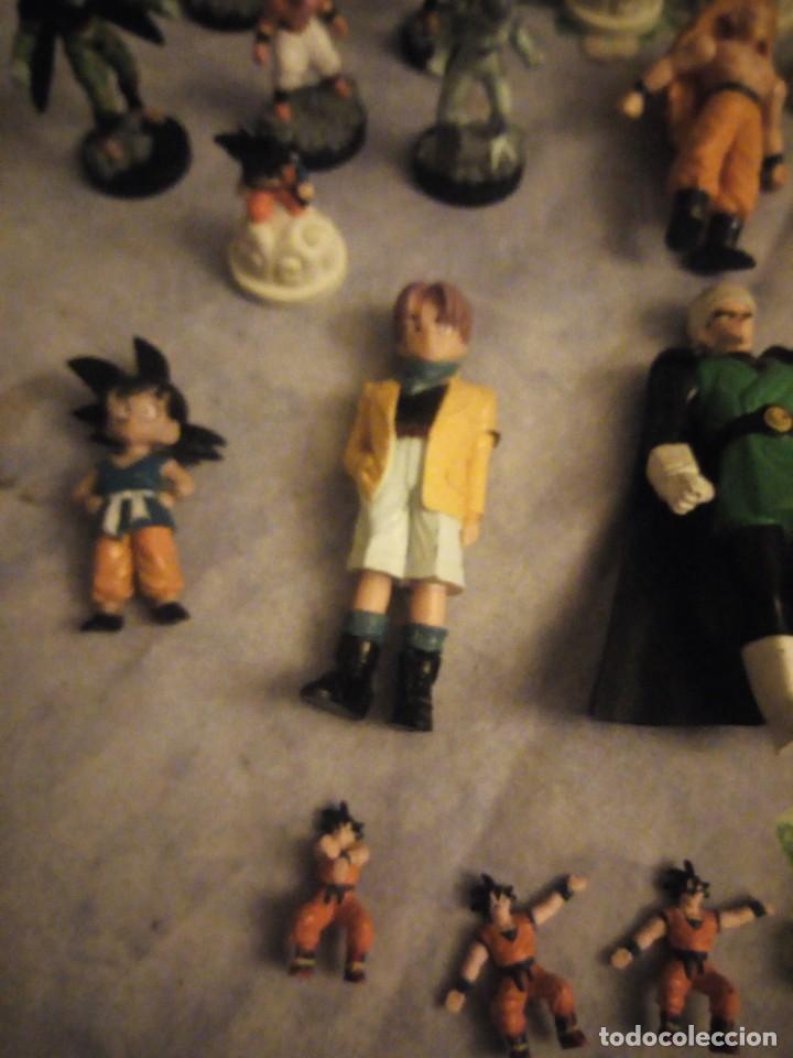 Figuras y Muñecos Marvel: Lote de 25 figuras de dragón ball z. diferentes modelos y tamaños. - Foto 3 - 186013940
