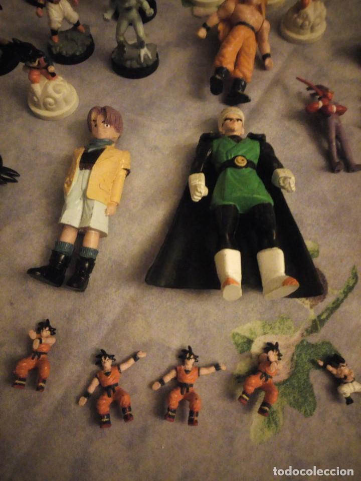 Figuras y Muñecos Marvel: Lote de 25 figuras de dragón ball z. diferentes modelos y tamaños. - Foto 4 - 186013940