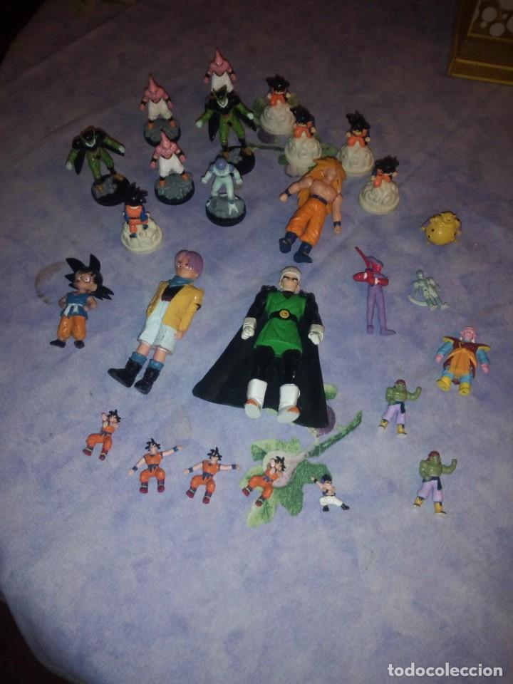 Figuras y Muñecos Marvel: Lote de 25 figuras de dragón ball z. diferentes modelos y tamaños. - Foto 13 - 186013940
