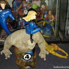Figuras y Muñecos Marvel: FANTASTIC FOUR DIORAMA BY SIDESHOW COLLECTIBLES DIORAMA LOS CUATRO FANTASTICOS. Lote 186173341