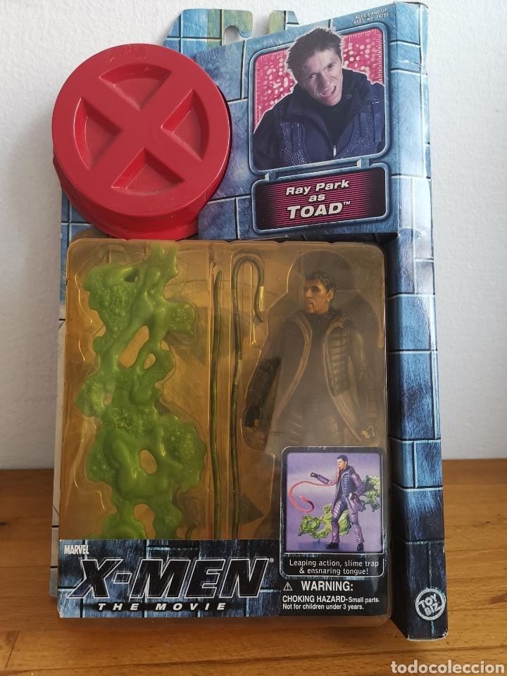Figuras y Muñecos Marvel: Figura de Toad Ray Park, de la Película X-Men en su blíster - Foto 2 - 186364801