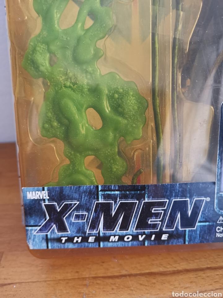 Figuras y Muñecos Marvel: Figura de Toad Ray Park, de la Película X-Men en su blíster - Foto 4 - 186364801