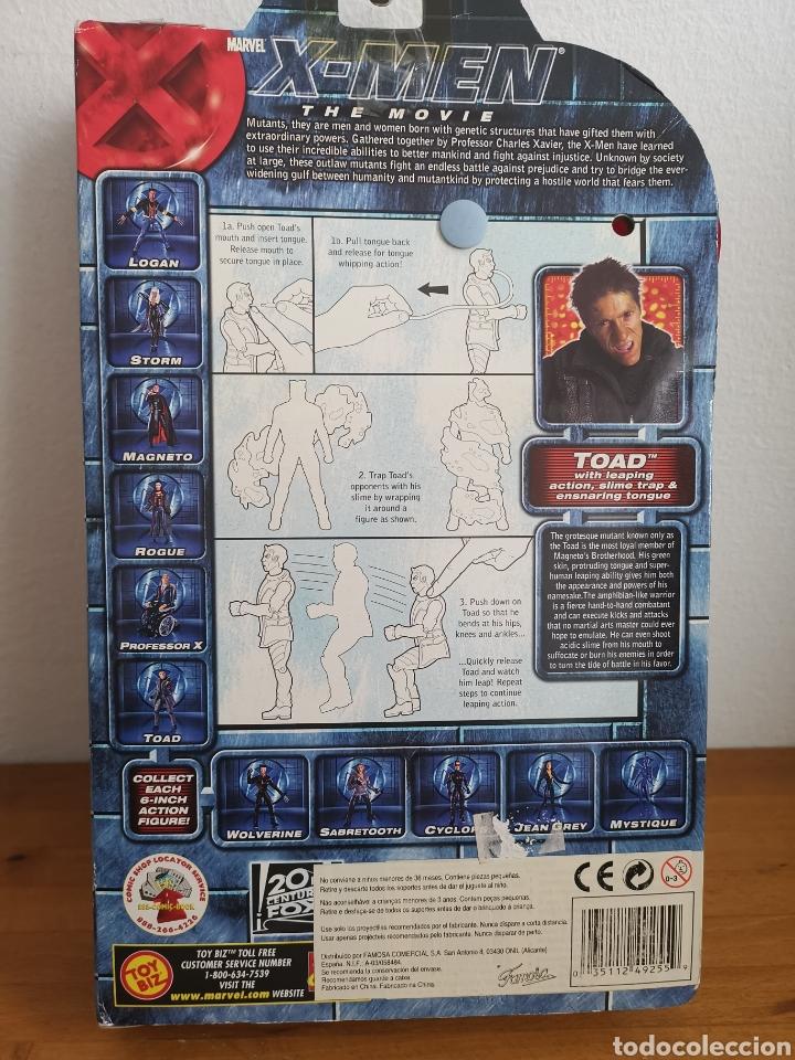 Figuras y Muñecos Marvel: Figura de Toad Ray Park, de la Película X-Men en su blíster - Foto 5 - 186364801
