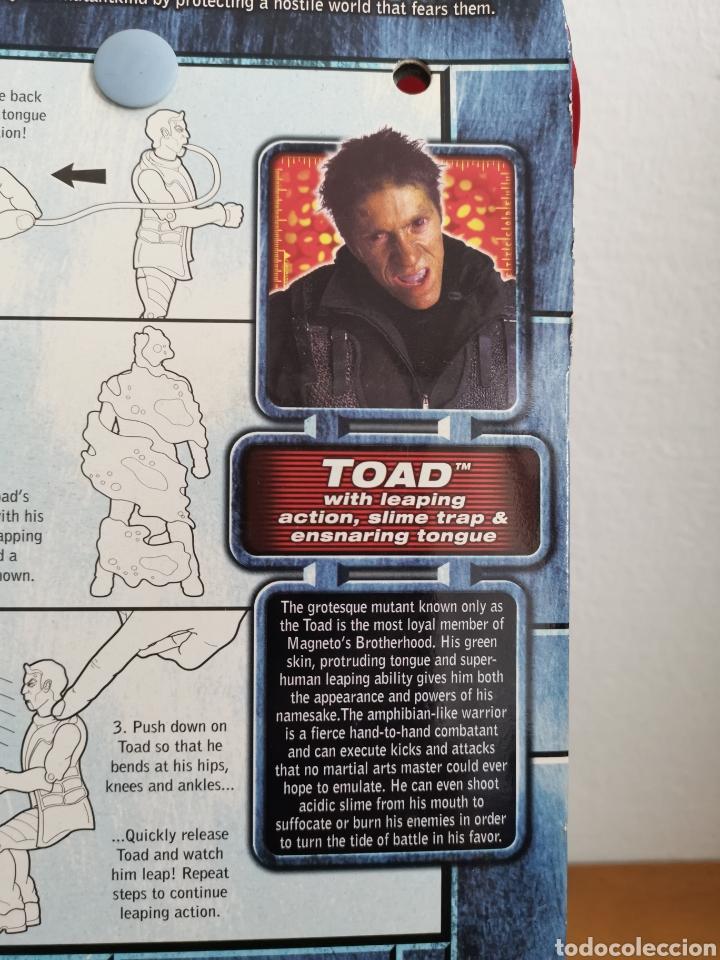 Figuras y Muñecos Marvel: Figura de Toad Ray Park, de la Película X-Men en su blíster - Foto 6 - 186364801
