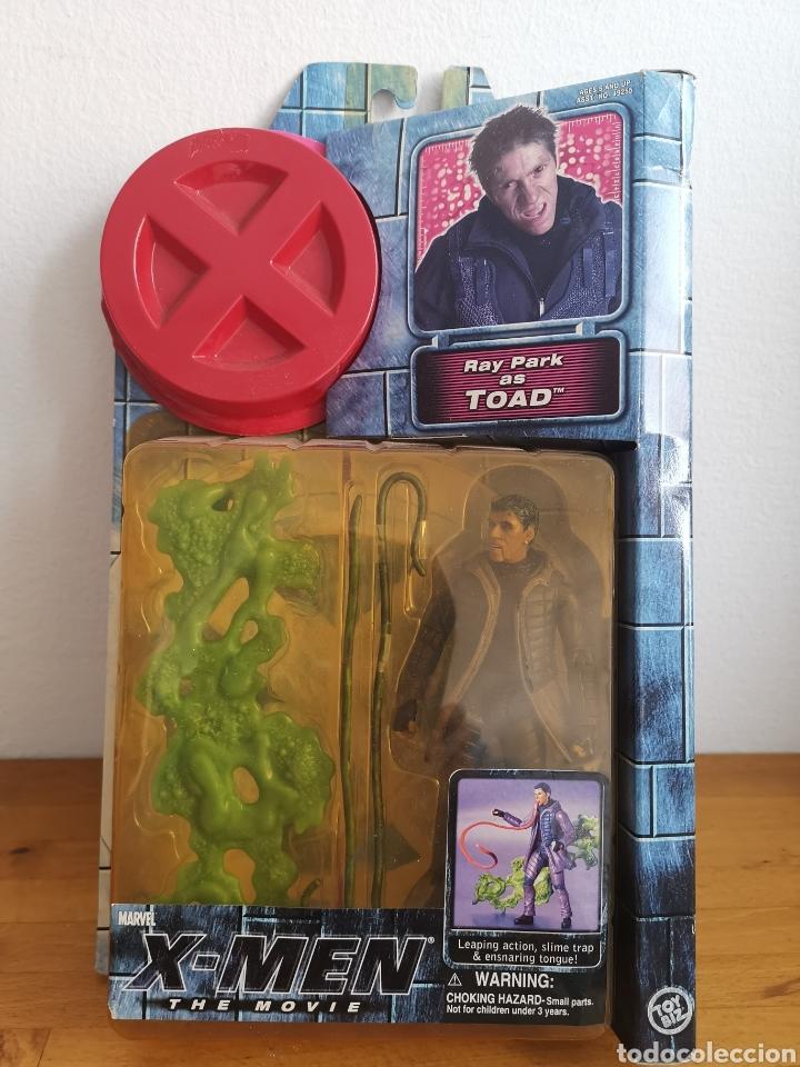FIGURA DE TOAD RAY PARK, DE LA PELÍCULA X-MEN EN SU BLÍSTER (Juguetes - Figuras de Acción - Marvel)