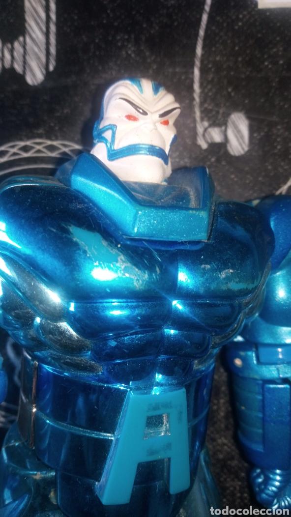 Figuras y Muñecos Marvel: Muñeco figura apocalipsis villano x men 18 cm aproximadamente muy jugada ver fotos estado algun rasg - Foto 2 - 186410843