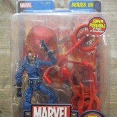Figuras y Muñecos Marvel: MARVEL LEGENDS - PHASING GHOST RIDER CON MOTO - SERIE VII BLISTER / SIN ABRIR - TOY BIZ. Lote 186791161