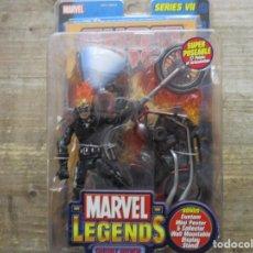 Figuras y Muñecos Marvel: MARVEL LEGENDS - GHOST RIDER CON MOTO - SERIE VII BLISTER / SIN ABRIR - TOY BIZ. Lote 186793975