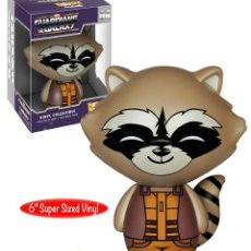 Figuras y Muñecos Marvel: FIGURA FUNKO DORBZ XL ROCKET RACCOON MARVEL EXCLUSIVO SUMMER CONVENTION 2015 NUEVO. Lote 189185966